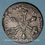 Coins Louis XIV (1643-1715). 6 deniers dits dardenne 1710&. Aix