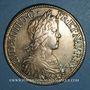 Coins Louis XIV (1643-1715). Ecu à la mèche longue 1651 A (D.G*)