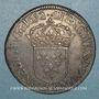 Coins Louis XIV (1643-1715). Ecu à la mèche longue 1652 S. Troyes. Ex Sobin n° 953