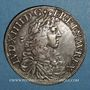 Coins Louis XIV (1643-1715). Ecu au buste juvénile 1669 L. Bayonne (palme)