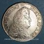 Coins Louis XIV (1643-1715). Ecu aux 8L 1er type 1690 L couronné. Lille. Flan neuf