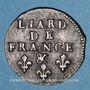Coins Louis XIV (1643-1715). Liard de France au buste âgé, 3e type, 1693&. Aix