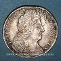 Coins Louis XIV (1643-1715). Monnayage particulier de Strasbourg. 11 sols 1710BB