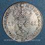 Coins Louis XIV (1643-1715). Monnayage particulier de Strasbourg. 11 sols 1711 BB