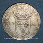 Coins Louis XIV (1643-1715). Monnayage particulier de Strasbourg. 22 sols 1710 BB