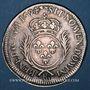 Coins Louis XIV (1643-1715). Monnayage particulier de Strasbourg. 34 sols aux palmes 1694 BB. Réformation