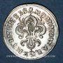 Coins Louis XIV (1643-1715). Monnayage particulier de Strasbourg. I sol de Strasbourg 1682