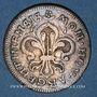 Coins Louis XIV (1643-1715). Monnayage particulier de Strasbourg. IIII sols de Strasbourg 1682