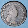 Coins Louis XIV (1643-1715). Monnayage particulier de Strasbourg. Quatre deniers 1698 BB.