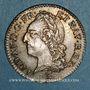 Coins Louis XV (1715-1774). 1/10 d'écu à la vieille tête 1773 I. Limoges
