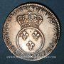 Coins Louis XV (1715-1774). 1/10 écu vertugadin 1716&. Aix. Réformation !