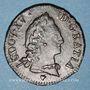 Coins Louis XV (1715-1774). 1/2 sol d'Aix 1767 &