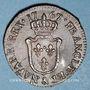 Coins Louis XV (1715-1774). 1/2 sol d'Aix 1767&