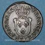 Coins Louis XV (1715-1774). 1/2 sol d'Aix 1768&