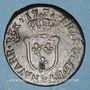 Coins Louis XV (1715-1774). 1/2 sol d'Aix 1771&