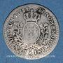 Coins Louis XV (1715-1774). 1/20 écu au bandeau 1744 A
