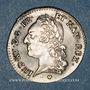 Coins Louis XV (1715-1774). 1/5 écu à la vieille tête 1774 BB. Strasbourg