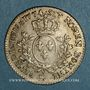 Coins Louis XV (1715-1774). 1/5 écu à la vieille tête 1774 BB. Strasbourg.