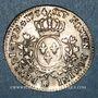 Coins Louis XV (1715-1774). 1/5 écu à la vieille tête 1774BB. Strasbourg