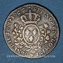 Coins Louis XV (1715-1774). 1/5 écu au bandeau 1766&. Aix