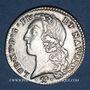 Coins Louis XV (1715-1774). 1/5 écu au bandeau 1769/6L. Bayonne