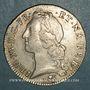 Coins Louis XV (1715-1774). Ecu au bandeau de Béarn 1756. Pau