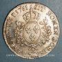 Coins Louis XV (1715-1774). Ecu au bandeau de Béarn 1761. Pau