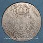 Coins Louis XV (1715-1774). Ecu aux lauriers 1726&. Aix