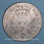 Coins Louis XV (1715-1774). Ecu aux lauriers 1734 W. Lille