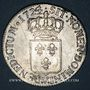 Coins Louis XV (1715-1774). Ecu de France 1724V. Troyes. Flan neuf !