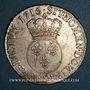 Coins Louis XV (1715-1774). Ecu vertugadin 1716 9. Rennes