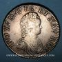 Coins Louis XV (1715-1774). Ecu vertugadin 1716&. Aix