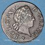 Coins Louis XV (1715-1774). Liard à la vieille tête 1770BB. Strasbourg