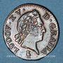 Coins Louis XV (1715-1774). Liard à la vieille tête 1771 V. Troyes
