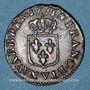 Coins Louis XV (1715-1774). Liard à la vieille tête 1771V. Troyes