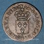 Coins Louis XV (1715-1774). Liard au buste enfantin 1720BB. Strasbourg