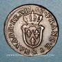 Coins Louis XV (1715-1774). Liard d'Aix 1768 &