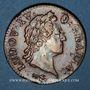 Coins Louis XV (1715-1774). Sol à la vieille tête 1770. Besançon
