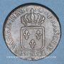 Coins Louis XV (1715-1774). Sol à la vieille tête 1770BB. Strasbourg