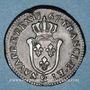 Coins Louis XV (1715-1774). Sol d'Aix 1768 & Aix
