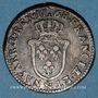 Coins Louis XV (1715-1774). Sol d'Aix 1768& Aix