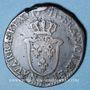 Coins Louis XV (1715-1774). Sol d'Aix 1771& Aix