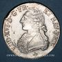 Coins Louis XVI (1774-1793). Ecu aux lauriers 1782 M. Toulouse