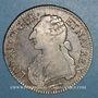 Coins Louis XVI (1774-1793). Ecu aux lauriers 1784 Q. Perpignan