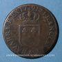 Coins Louis XVI (1774-1793). Sol 1791 . A. Léopard. 2e semestre