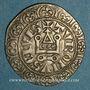 Coins Philippe IV le Bel (1285-1314). Gros tournois à l'O long (1290-95). L fleurdelisé (?)