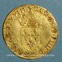 Coins Charles IX (1560-1574). Ecu d'or au soleil 1568M. Toulouse