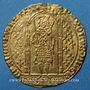 Coins Charles V (1364-1380). Franc à pied