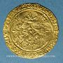 Coins Charles VI (1380-1422). Ecu d'or à la couronne. 4e émission. Point 9e. La Rochelle
