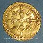 Coins François I (1515-1547). Ecu d'or au soleil, 5e type. Bayonne
